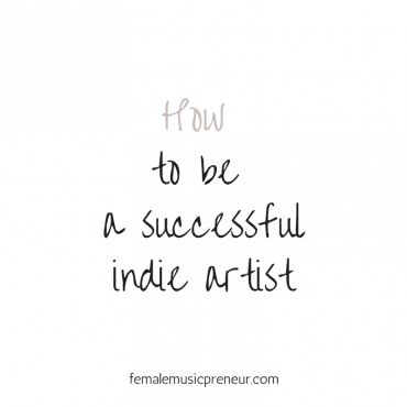 How to be a successful independent music artist